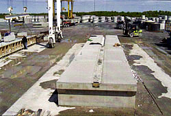 Floating Precast Concrete Dock 2