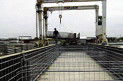 Floating Precast Concrete Dock 3