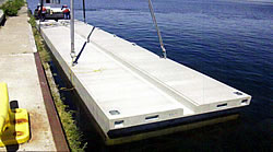 Floating Precast Concrete Dock 4